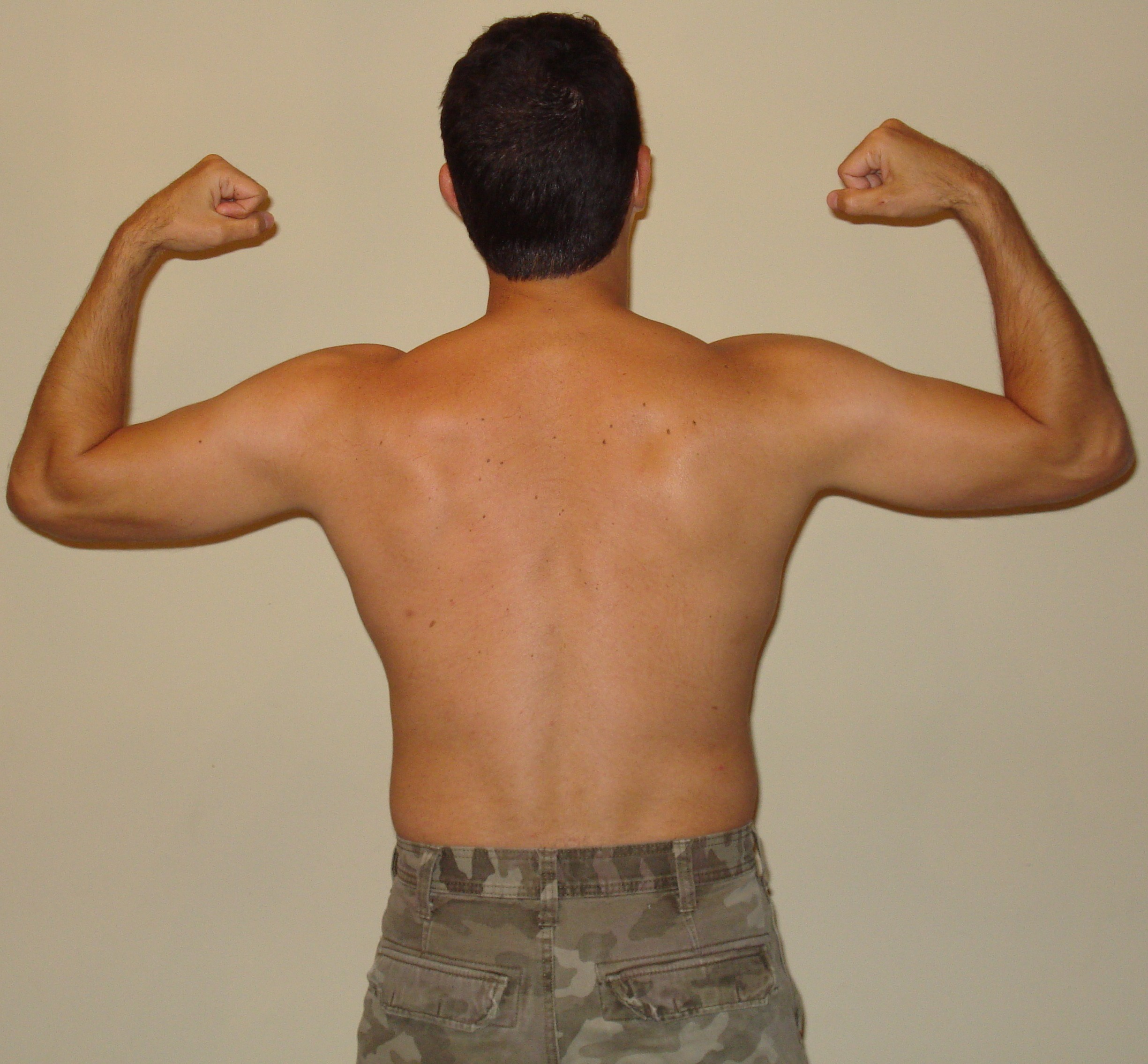 P90X Results Day 1- Back