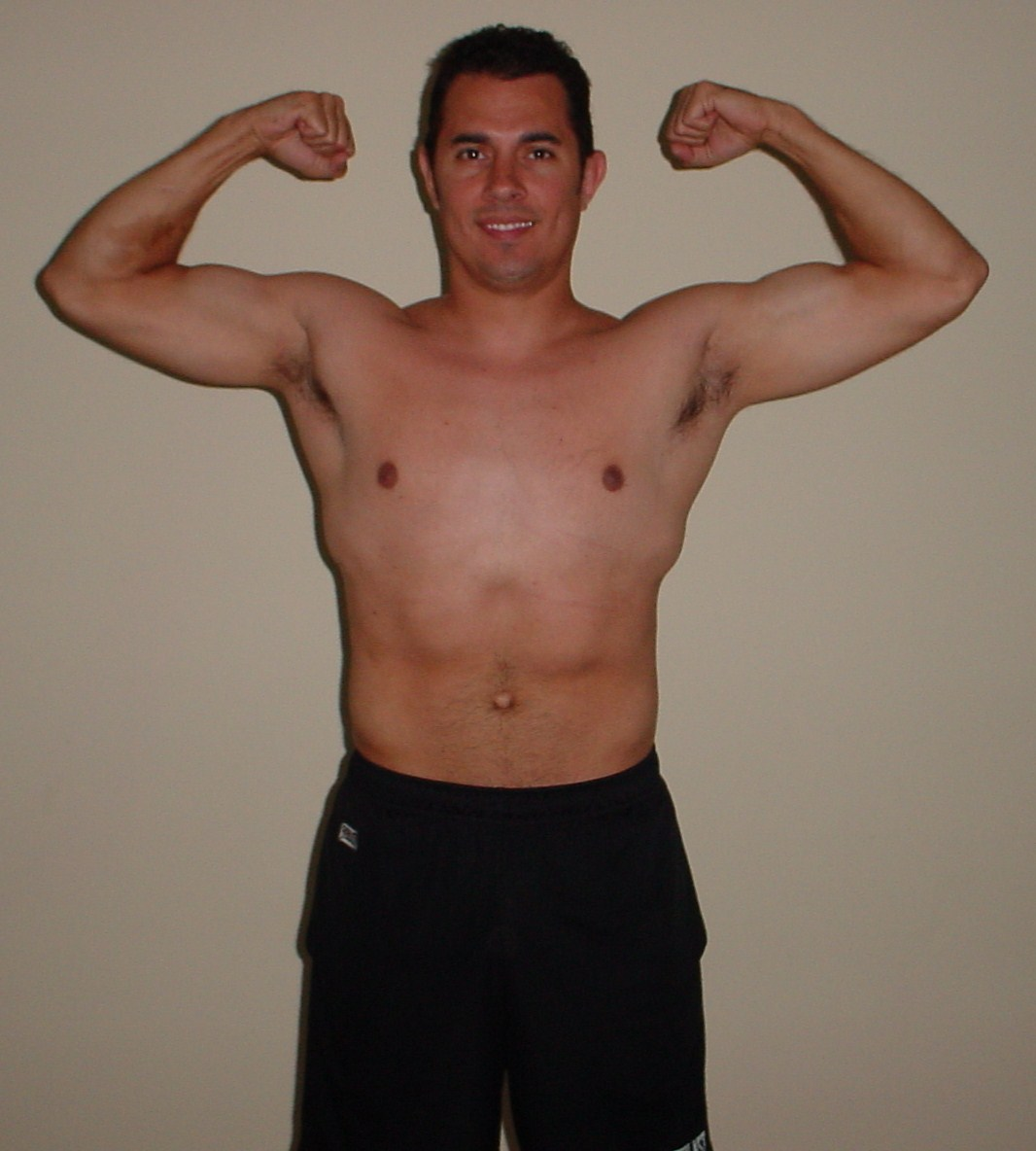 P90X Results Day 30- Front