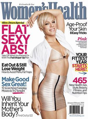 Pink and P90X- Womens Health Magazine