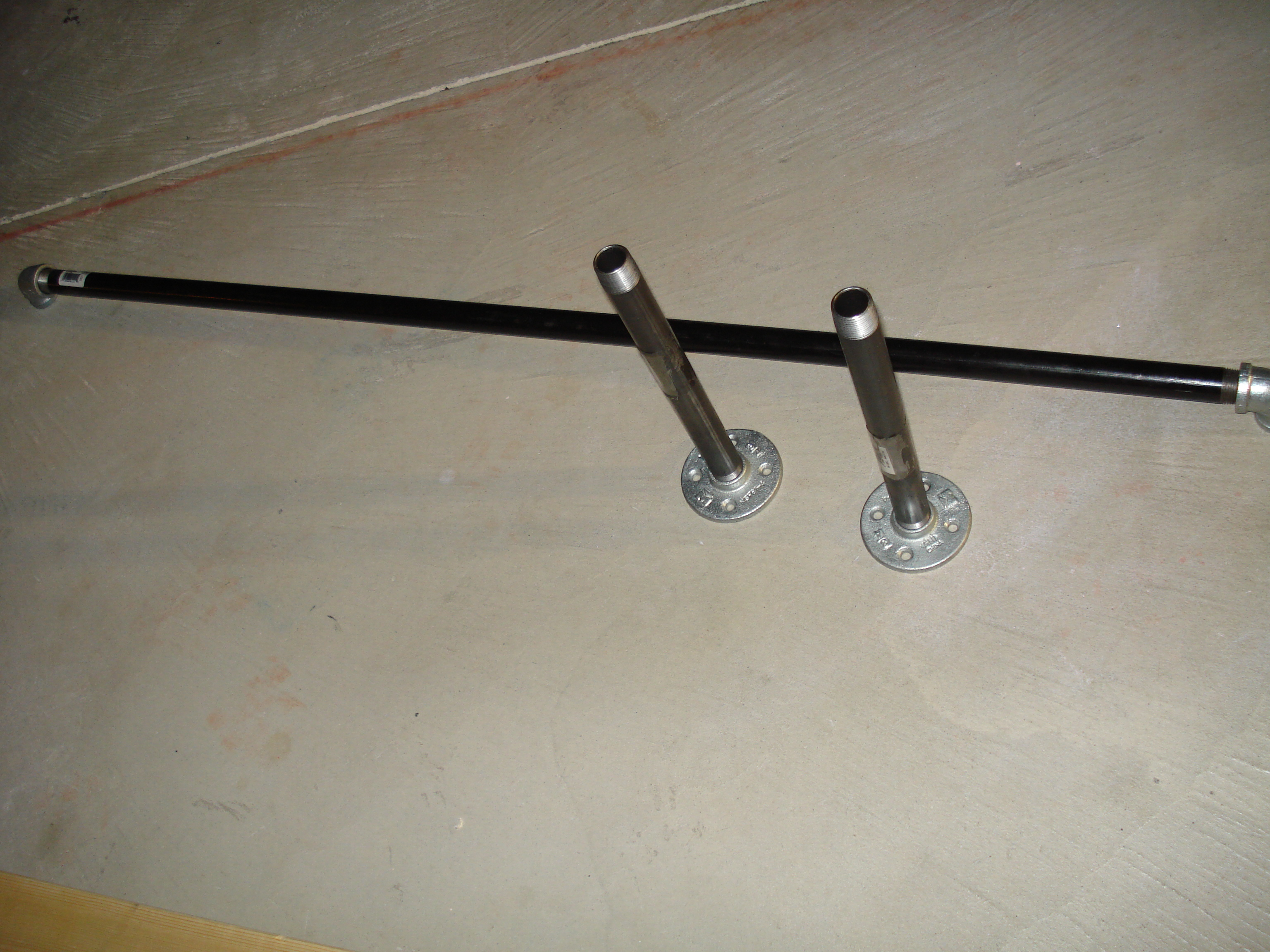 How To Make Your Own Home Made Pull Up Bar For P90x