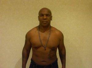 Mike Tyson is Doing P90X