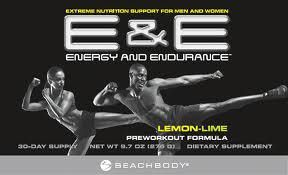 Energy and Endurance pre-workout formula