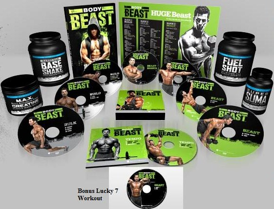 Body Beast w/Beast Stack