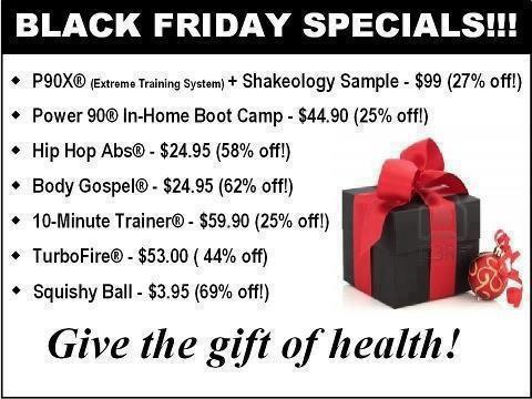 Beachbody Black Friday and Cyber Monday Deals 2012