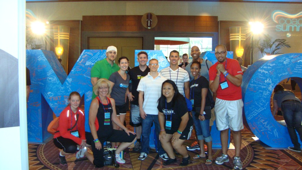 Jeff Ochoa and team-Beachbody Summit 2012