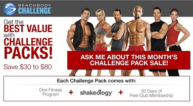 Team Beachbody Challenge Pack