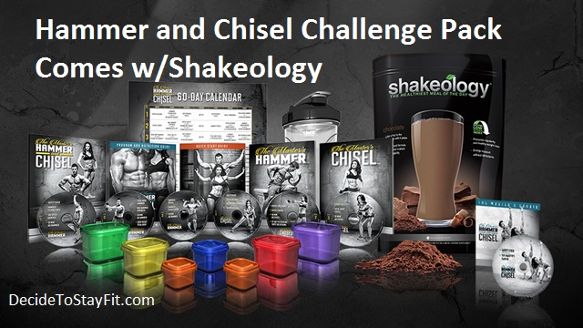 hammer and chisel challenge pack