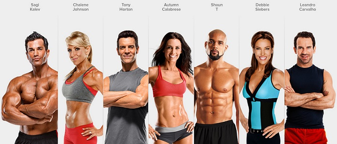 Beachbody trainers