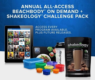 Beachbody All Access Challenge Pack