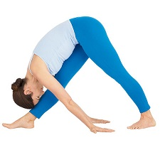 yoga intense side stretch